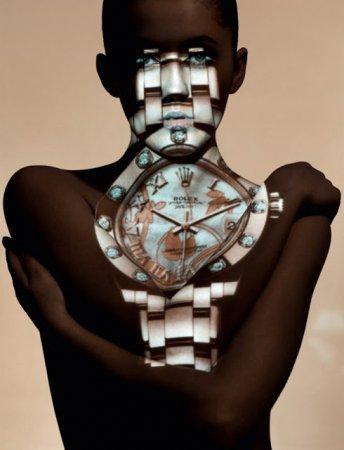 Потрясающая рекламная кампания часов в журнале Numero China