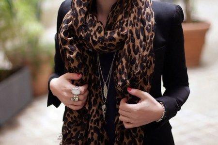 Как носить леопардовый принт