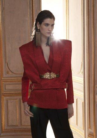 Потрясающая осенняя коллекция дома моды Balmain