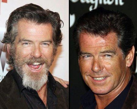 Модная форма бороды у знаменитостей
