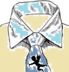 Декупаж на ткани или винтажный галстук в подарок любимому мужчине