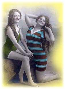 Эволюция купального костюма
