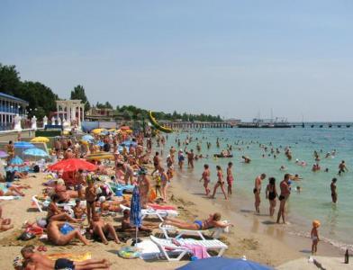 Курорты Крыма с песчаными пляжами для отдыха с детьми