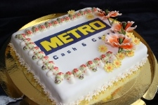 Корпоративный торт на заказ в Москве