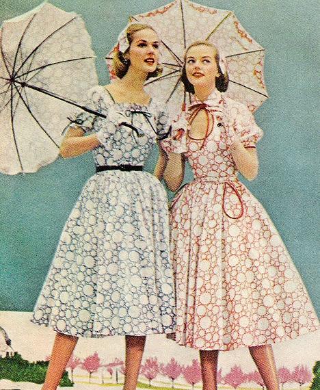 Fashion in the 1950s in australia 29